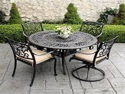 black wrought iron patio furniture. wrought iron patio furniture sets yahoo image search results black