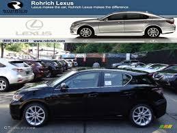 Obsidian Black Lexus Ct Hybrid Premium