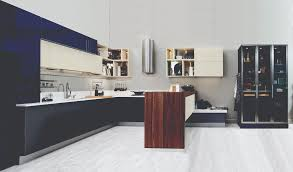 no longer does a kitchen have to be in one color many exhibiters displayed kitchens