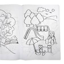 pta2778 jumbo colouring book 160 pages open