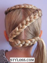 Hairstyles For School Step By Step Hairstyles For Girls In Middle School Hairstyles For Little