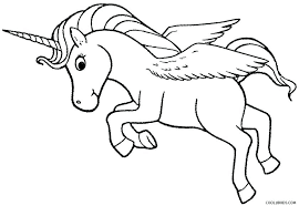 unicorn coloring books printable