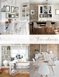 modern farmhouse furniture. Full Images Of Modern Farmhouse Furniture Mixing Chairs W Dining Tables