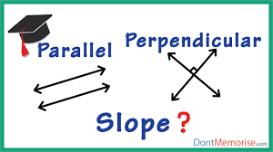 slopes of parallel and perpendicular lines gmat gre cat bank po