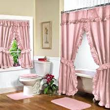 bathroom window curtain sets curtain ideas shower curtains with matching window valance bathroom window shower curtain