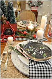 country Christmas table setting http://rosemary-thyme.blogspot.ru/