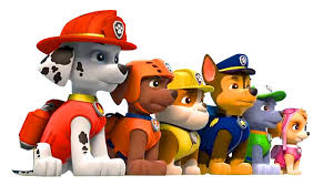 paw patrol backgrounds on walls cover