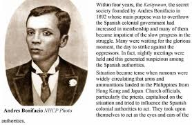 Image result for Andres Bonifacio of the Philippines