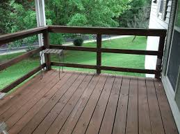 Horizontal Deck Railing Embraces Every Outdoor Living with Natural Look