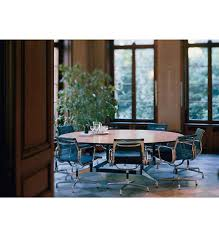 eames big round table dinner room table image