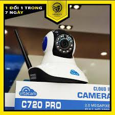 Camera IP Wifi Vitacam giám sát trong nhà C720 Pro full HD 1080P – OHNO  Việt Nam