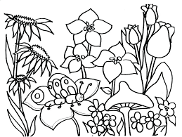 Nature Coloring Pages Free Printable Best Stained Glass Patterns