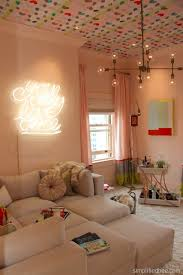 teenage bedroom lighting ideas. teen only hang out room by emily mughannam of em design interiors teenage bedroom lighting ideas