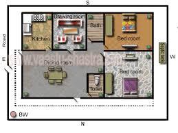 Vastu Model Floor Plan for East DirectionModel Floor Plan for East Direction