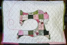 Patchwork Sewing Machine Cover Quilt Pattern | Quilting ... & Patchwork Sewing Machine Cover Quilt Pattern Adamdwight.com