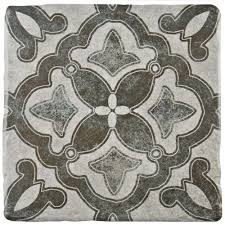 Tile Decor Store Merola Tile Costa Cendra Decor Clover 100100100 in x 100100100 in 73