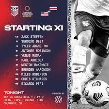 USA vs. Costa Rica