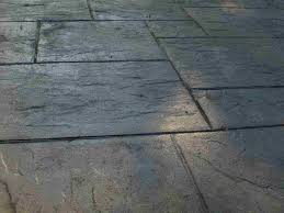 does stamped concrete cost