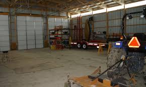 12x12 garage doorGarage  Barn Door height for Tractor  backhoe