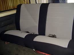 ford bronco standard color seat covers rear seats