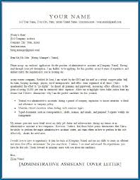 Fax Letter Head Knowing More About Administrative Assistant Cover Letter