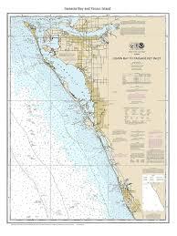 Sarasota Bay Nautical Chart Amazon Com Sarasota Bay Area 2014 Nautical Map Florida