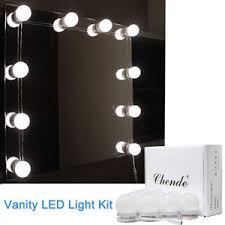 bathroom mirrors with lighting. Chende Vanity LED Mirror Light Kit For Makeup Hollywood With Bathroom Mirrors Lighting