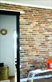 faux brick wall panels white covering whitewash bric