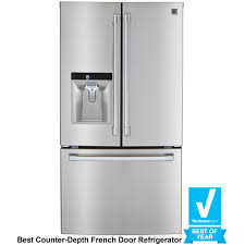 What Is The Depth Of A Counter Depth Refrigerator Kenmore Pro 79993 237 Cu Ft Counter Depth French Door