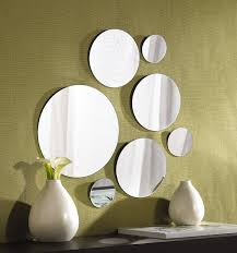 stylish inspiration mirror sets wall decor picture 32 of 36 luxury elements round mount set 7 assorted 4 3 piece