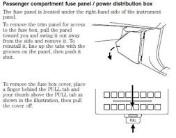 solved 2000 ford expedition fuse box layout fixya and power distribution box underhood