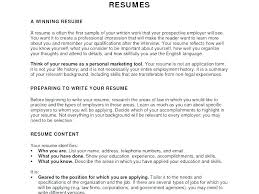 Objectives For Resumes Magnificent Example Objectives For Resume Sample Objectives In Resume For It