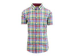 Men's Patterned Dress Shirts Classy Men's SS Patterned Dress Shirts