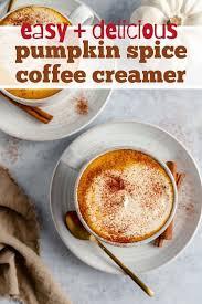 Pumpkin spice liquid coffee creamer. Dairy Free Pumpkin Spice Creamer Kim S Cravings