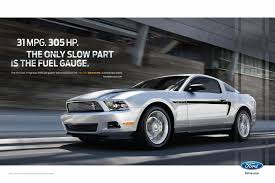 Ford Mustang Ad - Car Autos Gallery