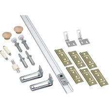 national 48 in bifold folding closet door hardware kit n343 723 track 48 long