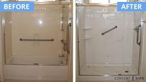cultured marble shower wih beige swirls