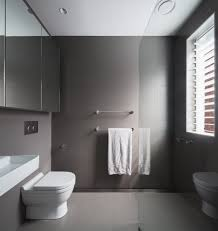 architecture bathroom toilet: brewer architects bathroom monochrome residential renovations alterations additions