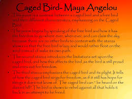 caged bird a angelou