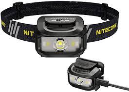 <b>Nitecore NU35</b> Headlamp, <b>Dual Power</b> Source, Long Runtime, USB ...