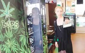 Dispensary Vending Machine Delectable Vancouver's Marijuana Vending Machine Is The First Of Its Kind In Canada