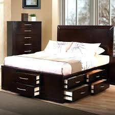 full bed with drawers stunning storage beds queen size frame for king twin platform