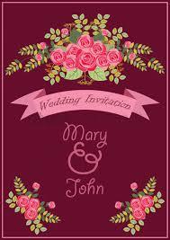 Alia Designs Invitations Wedding Invitation Design Vector Image 1987024