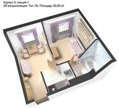Plan, 30 square meters   For the Home   Pinterest   Square meter, Small  apartments and Apartment ideas
