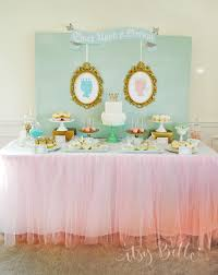 Turquoise Baby Shower Decorations A Boy And Girl Royal Baby Shower Itsy Belleitsy Belle