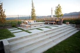 Concrete patio designs with fire pit Stamped Concrete Concrete Patio Concrete Stairs Concrete Fire Pit Patio Agtrac Enterprises Logan Landscaping Network Concrete Patio Design Ideas And Cost Landscaping Network