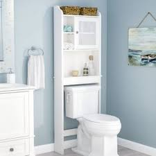 bathroom cabinets over toilet. Pinecrest Over The Toilet Cabinet Bathroom Cabinets Wayfair