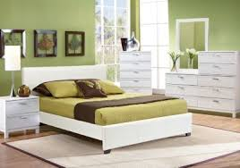 Gardenia White 5 Pc Queen Upholstered Bedroom | Home sweet home ...