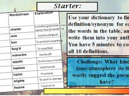 sonnet and sonnet challenging essay plan year poetry  aqa poetry london