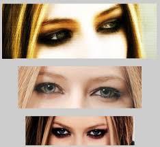 avril lavigne eye makeup